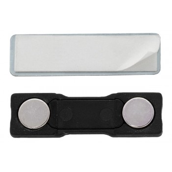 ABS Magnetic Badge Attachment - 100 pack