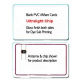NFC Ultralight C Blank PVC Cards - 100 pack