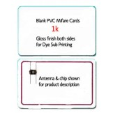 MIFARE Classic® 1k Blank PVC Cards - 100 pack