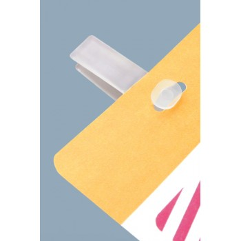 CARDclip For Self Expiring Colored Header BackPart - 500 pack
