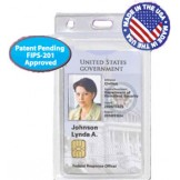 Secure Clear Vinyl 2 Card Holder - 50 pack