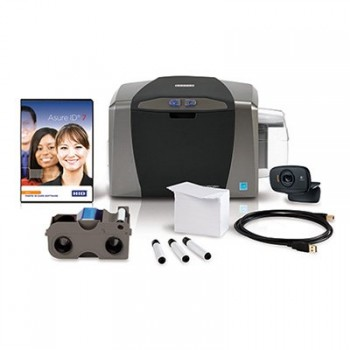 Fargo 50600 DTC1250e Complete Single-Sided ID Card System