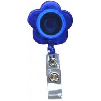 Translucent Flower Badge Reel - 10 pack