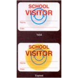 School Security Badges 1 Day - 1,000 pack