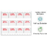 School Log Adhesive Badges - 100 Sheets