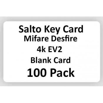 Salto Key Cards 4k EV2 100 pack
