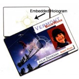 Embedded Hologram PVC Cards - 500 pack