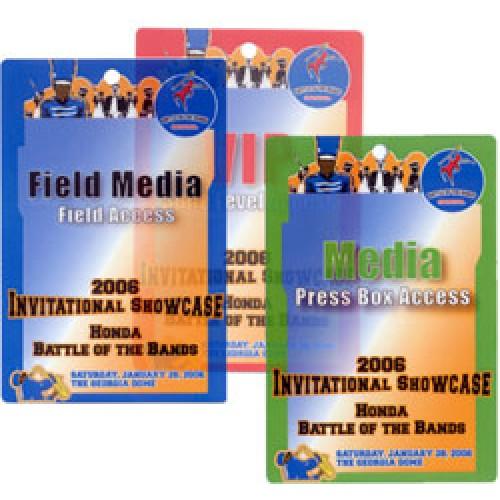 Event Credentials Custom Printed- 500 pack