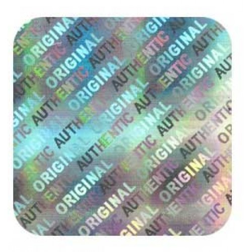 Holographic Sticker Square Authentic- 1,000 PACK