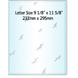 Letter Size Laminating Pouch - 100 pack