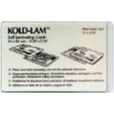 Kold Lam Credit Card 12-mil - 100 box
