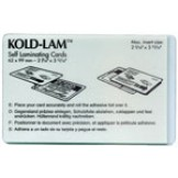 Kold Lam Business Card 12 mil - 500 box