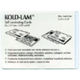 Kold Lam Medium Card 12-mil - 500 box