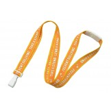 "Anti-Bullying, 5/8""(16mm) Breakaway Lanyard with Wide Plastic Hook 100 Pack"