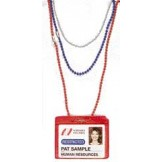 Solid Color 4mm Plastic Beaded Neck Chain-38in - 100 Pack