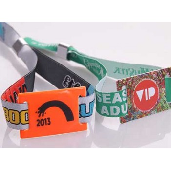 NFC Wristband Custom Printed or Woven, 1000 pack