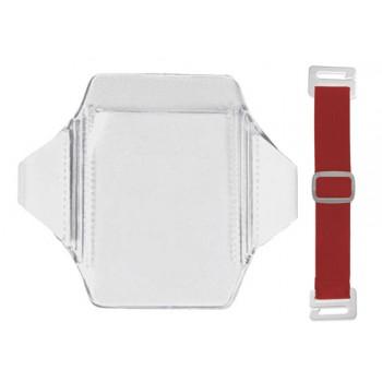 Vertical Arm band Holder w/elastic - 100 pack