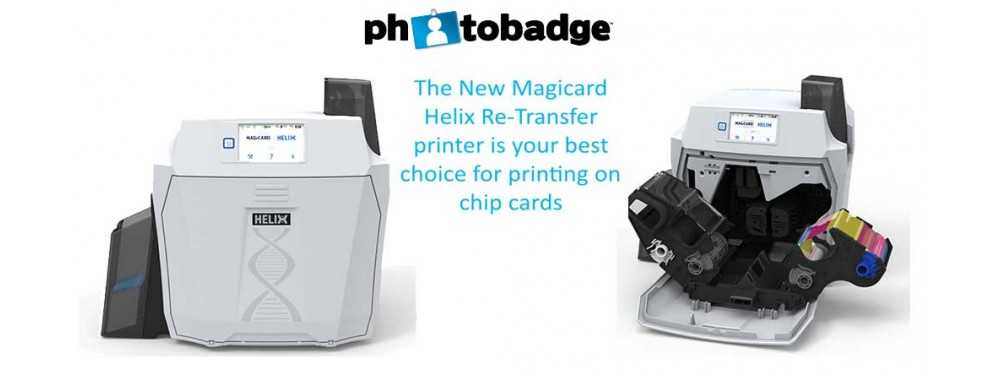 Helix Re-Transfer Printer