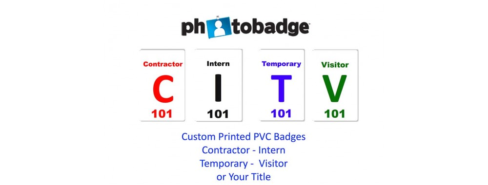 Custom Printed PVC Badges